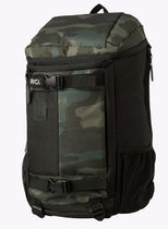 RVCA Camouflage Unisex Street Style A4 Plain Backpacks