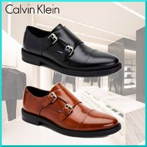 Calvin Klein Straight Tip Monk Plain Loafers & Slip-ons