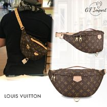 Louis Vuitton MONOGRAM Flower Patterns Canvas Blended Fabrics Street Style