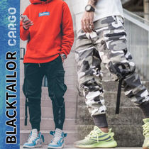 BLACKTAILOR Camouflage Street Style Cotton Cargo Pants