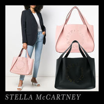 Stella McCartney Faux Fur A4 Plain Office Style Totes