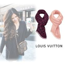 Louis Vuitton 2019SS SCARF noir brush one size Accessories