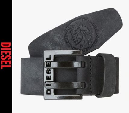 DIESEL Belts Street Style Leather Belts