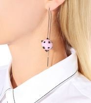 VALENTINO Casual Style Studded Street Style Earrings & Piercings