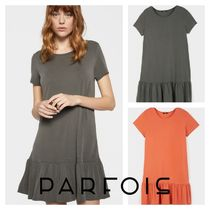 PARFOIS Casual Style Medium Dresses