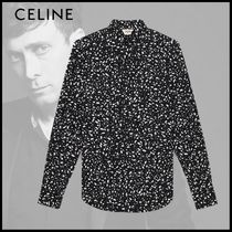 CELINE Long Sleeves Cotton Shirts