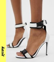 ASOS Casual Style Street Style Pin Heels Sandals