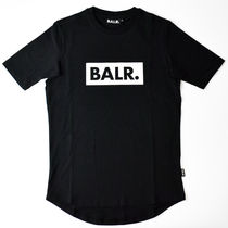 BALR Crew Neck Street Style Short Sleeves T-Shirts