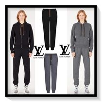 Louis Vuitton Monogram Casual Style Cashmere Plain Long Bottoms