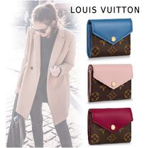 Louis Vuitton 2019SS PORTEFUILLE ZOE 3colors one size Folding Wallets