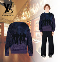 Louis Vuitton Crew Neck Wool Knits & Sweaters