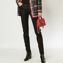 GUCCI Plain Leather Long Elegant Style