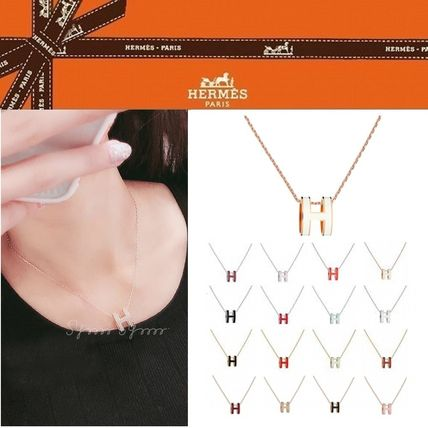 HERMES Costume Jewelry Elegant Style Necklaces & Pendants