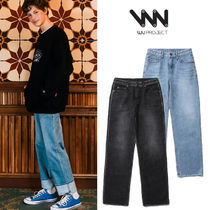 WV PROJECT Unisex Denim Street Style Plain Jeans & Denim
