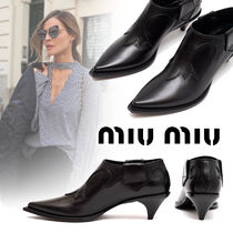 MiuMiu Ankle & Booties Boots
