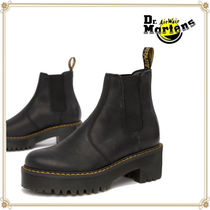 Dr Martens ROMETTY Casual Style Street Style Plain Leather