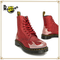Dr Martens 1460 Casual Style Street Style Plain Leather