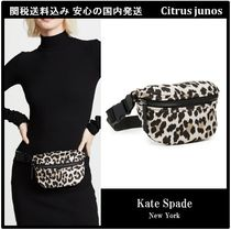kate spade new york Leopard Patterns Shoulder Bags