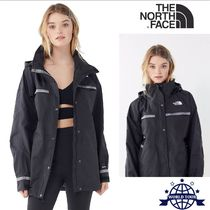 THE NORTH FACE Casual Style Plain Long Oversized Jackets