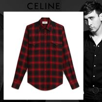 CELINE Other Check Patterns Shirts
