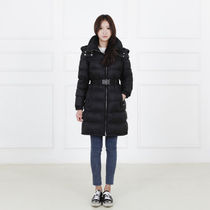 PRADA Plain Long Down Jackets