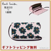 Paul Smith Flower Patterns Leather Clutches