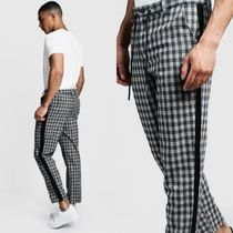 boohoo Tapered Pants Gingham Street Style Tapered Pants