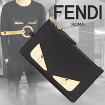 FENDI BAG BUGS Calfskin Coin Cases