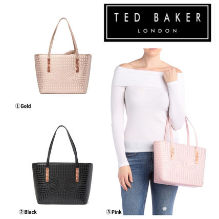64e0082de TED BAKER 2019 SS Casual Style Plain Leather Handbags by CREAW - BUYMA