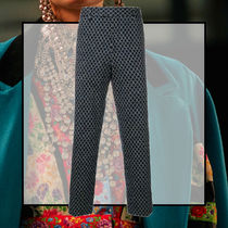 GUCCI Street Style Cotton Cropped Pants