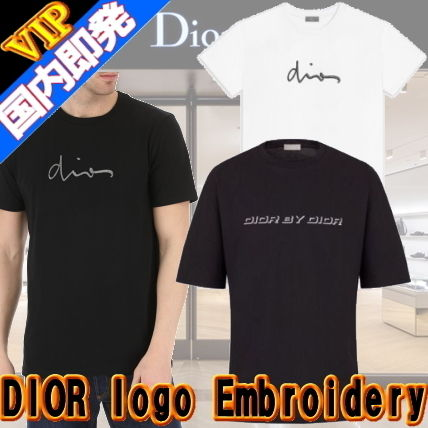 448cabd4 ... DIOR HOMME More T-Shirts U-Neck Cotton Short Sleeves T-Shirts ...