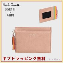 Paul Smith Tassel Leather Card Holders
