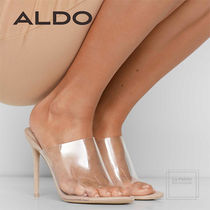 ALDO Plain Pin Heels Oversized Elegant Style Heeled Sandals