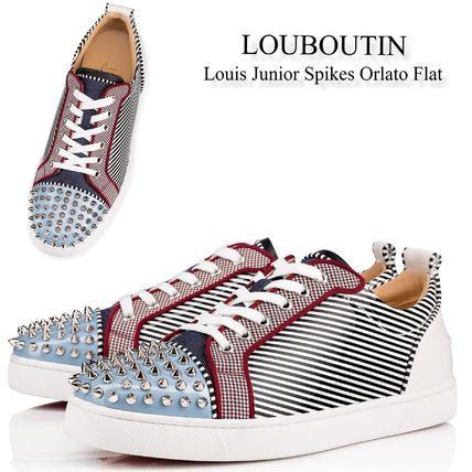 sneakers for cheap 76374 50633 Christian Louboutin 2019 SS Sneakers (Louis Junior Spikes Orlato Flat,  1191202CMA3)