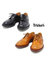 Tricker's Wing Tip Leather Oxfords