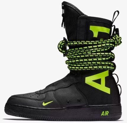 8fe6d78585bb Nike AIR FORCE 1 2019 SS Boots by HISAwing - BUYMA