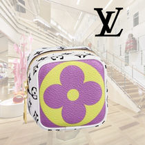 Louis Vuitton Monogram Leather Pouches & Cosmetic Bags