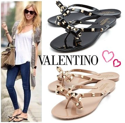 Plain PVC Clothing Sandals