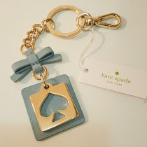 kate spade new york Blended Fabrics Leather Keychains & Bag Charms