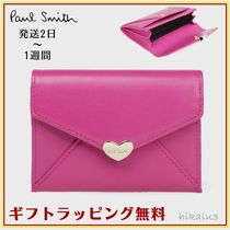 Paul Smith Heart Leather Card Holders