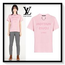 Louis Vuitton Crew Neck Plain Cotton Medium Short Sleeves T-Shirts