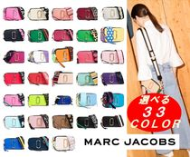 MARC JACOBS Casual Style 2WAY Plain Leather Shoulder Bags