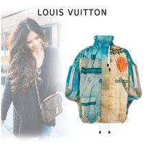 Louis Vuitton 2019-20AW PRINTED HOODIE Multi-color 32-40 Cropped