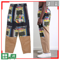 Tapered Pants Unisex Street Style Tapered Pants
