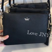 kate spade new york Plain Leather Shoulder Bags