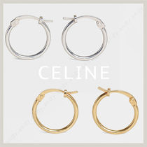 CELINE Unisex Plain Earrings