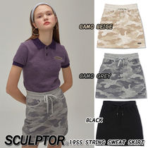 SCULPTOR Street Style Cotton Skirts
