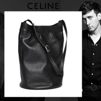 CELINE Lambskin Plain Messenger & Shoulder Bags