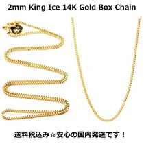 King Ice Street Style Chain Necklaces & Chokers