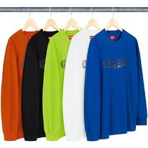 Supreme Street Style Long Sleeves Long Sleeve T-Shirts